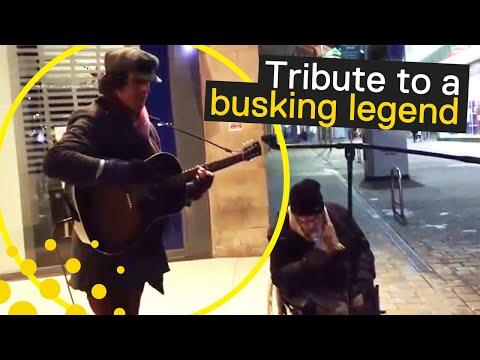 Busking Legend Jonny Walker Passes Away