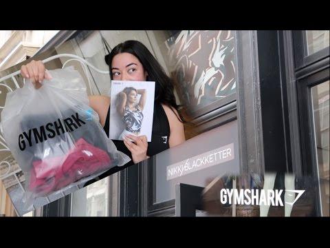 bda3dbebe05 NEW NIKKI BLACKKETTER x GYMSHARK COLLECTION TRY-ON! - YouTube