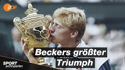 Re-Live: Boris Becker wird zur Tennis-Legende! - Wimbledon Finale 1985 | ZDFsport
