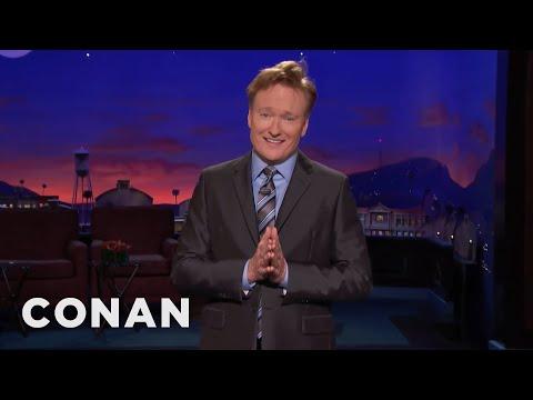 Conan: Trump's Presidency Is A Side Effect Of Propecia  - CONAN on TBS