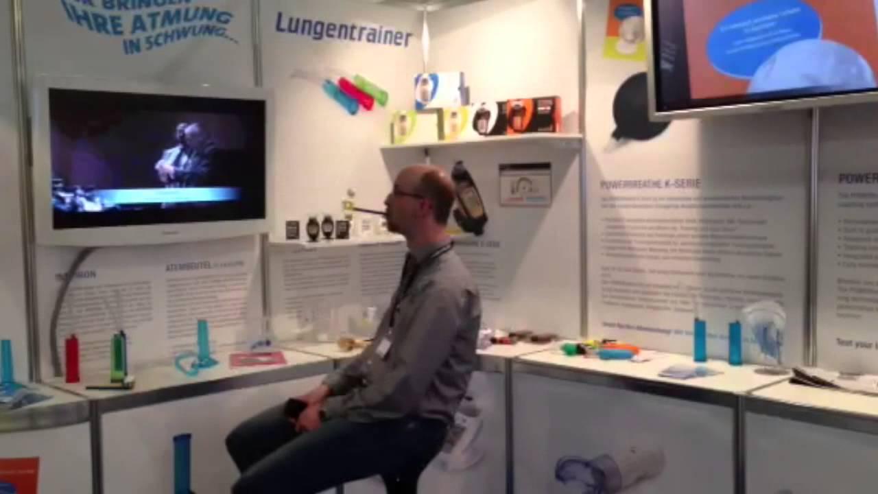 Lungentrainer Flow-Ball Atemtrainer
