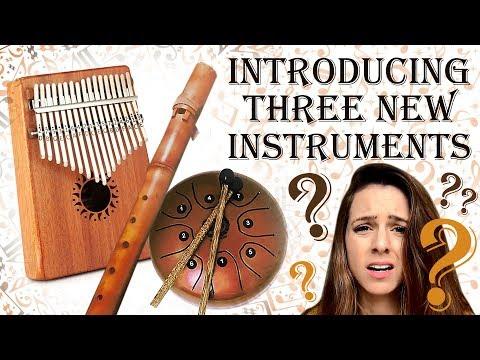 UNUSUAL INSTRUMENTS | Hang Drum, Kalimba, Native American Style Flute