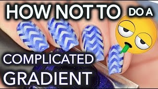 Download How NOT to do complicated gradient nail art Mp3 and Videos