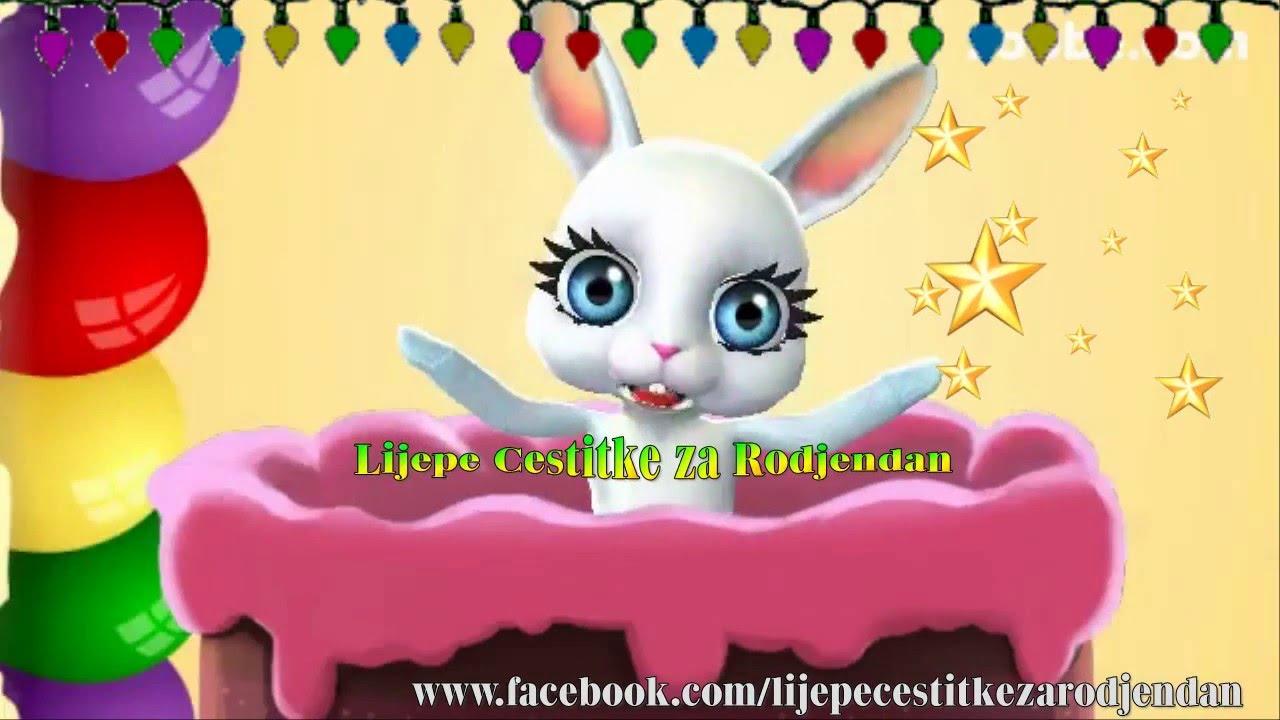 rođendanske čestitke za djecu video Sretan rođendan 🎂   YouTube rođendanske čestitke za djecu video