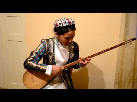 Uzbek national musical instrument.MOV