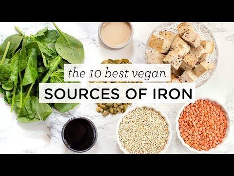 BEST VEGAN IRON SOURCES ‣‣ 10 High Iron Foods