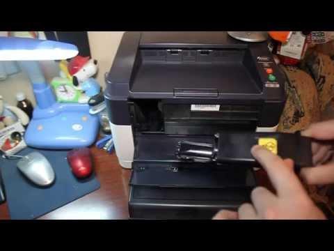 Обзор принтера KYOCERA Fs-1040: Самая маленькая цена печати (заправка)