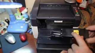 Обзор принтера KYOCERA fs-1040: Самая маленькая цена печати (заправка)(Во сколько обойдется: Принтер: 2470 руб. USB кабель: 80 руб. 3 Банки по 85 грамм: 3*160 руб; либо 1 кг: 1500 руб. Оригинальн..., 2015-05-31T18:10:40.000Z)