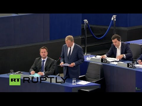 LIVE: Tusk, Juncker and Tsipras to comment on Greece at EP plenary session