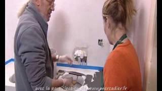 Emission Fr 3 - Béton Ciré Taloché pour la création d'une salle de bain  - fev 2010
