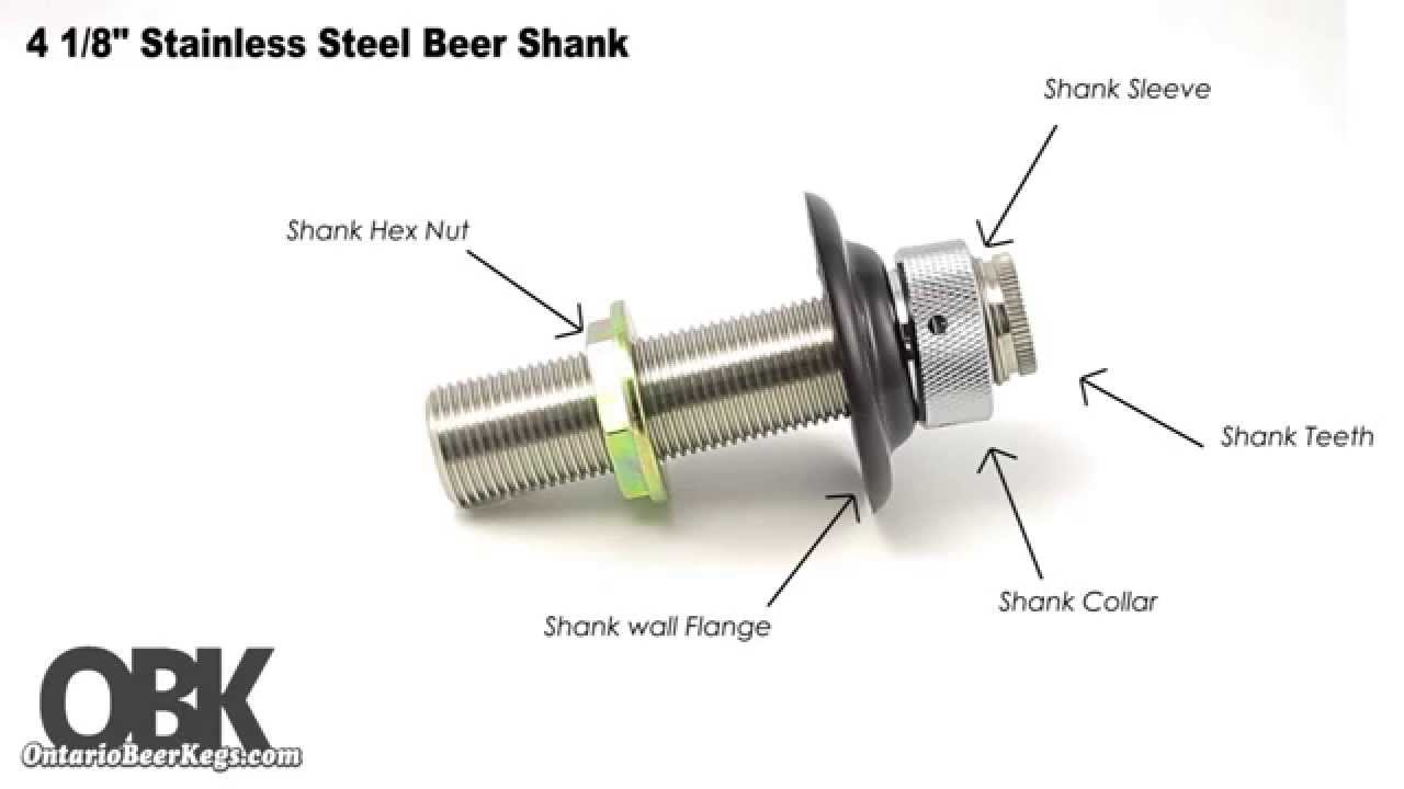 Enchanting Beer Shank Component - Sink Faucet Ideas - nokton.info