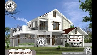 Indian House Design By 99HOMEPLANS COM [ Esp: M033 ]