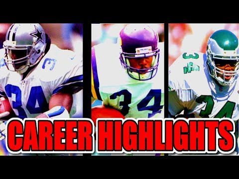 1080 Hd Herschel Walker Career Nfl Highlights Youtube