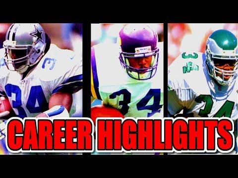 1080 Hd Herschel Walker Career Nfl Highlights Youtube