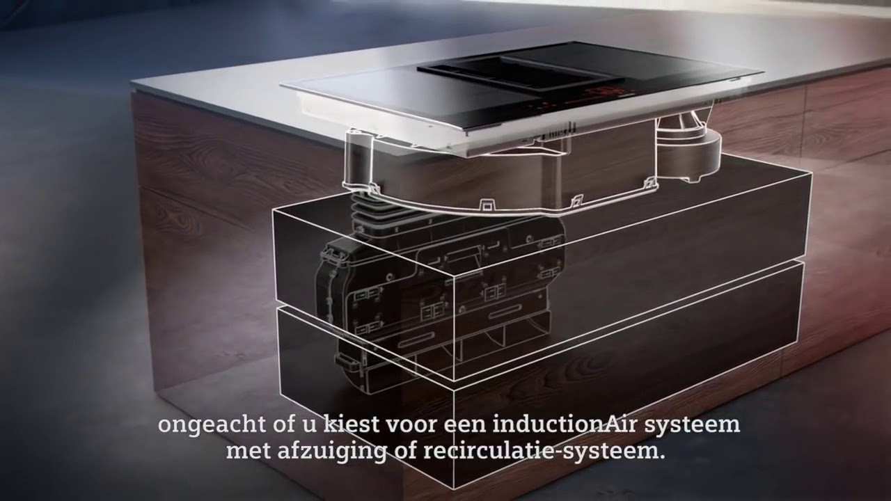 Siemens Induction Cooktop: Siemens Built In Induction Cooktop With Integrated