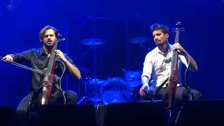 2Cellos-''My heart will go on''-Sofia,4/12/2017-SCORE tour