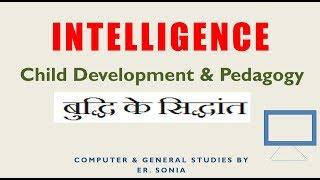 intelligence theory  in hindi for ctet htet fatafat ersoniayoutube child development psychology T9