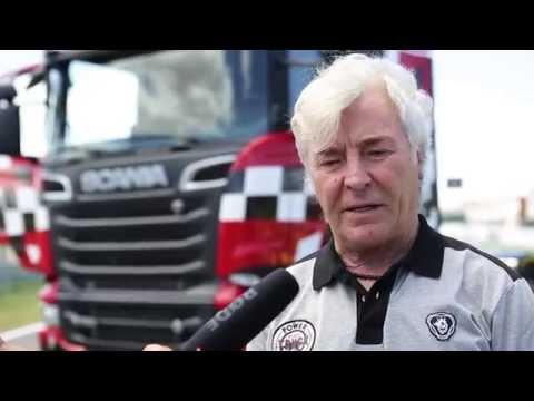 Ángel Nieto vuelve a los circuitos con un camión Scania