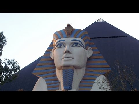Luxor Hotel and Casino in Las Vegas, Nevada FULL TOUR