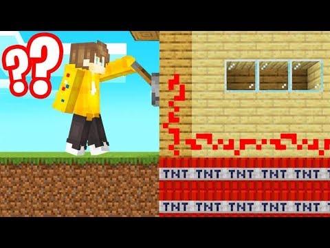 *EVIL* TNT TROLL On My FRIENDS HOUSE! (Minecraft)