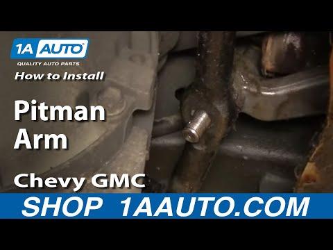 How To Install Replace Pitman Arm Chevy GMC Truck Tahoe Yukon Suburban 88-98 Part 2 1AAuto.com