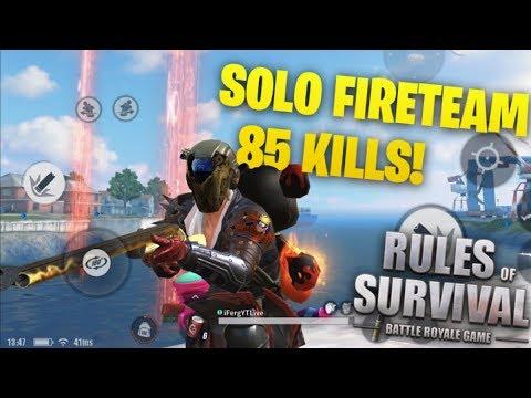 85+ Kills Solo
