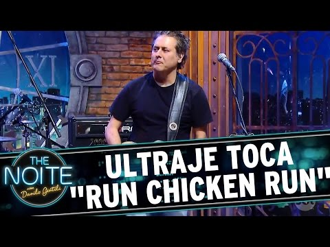 "The Noite (13/09/16) - Ultraje toca ""Run Chicken Run"", do Link Wray"