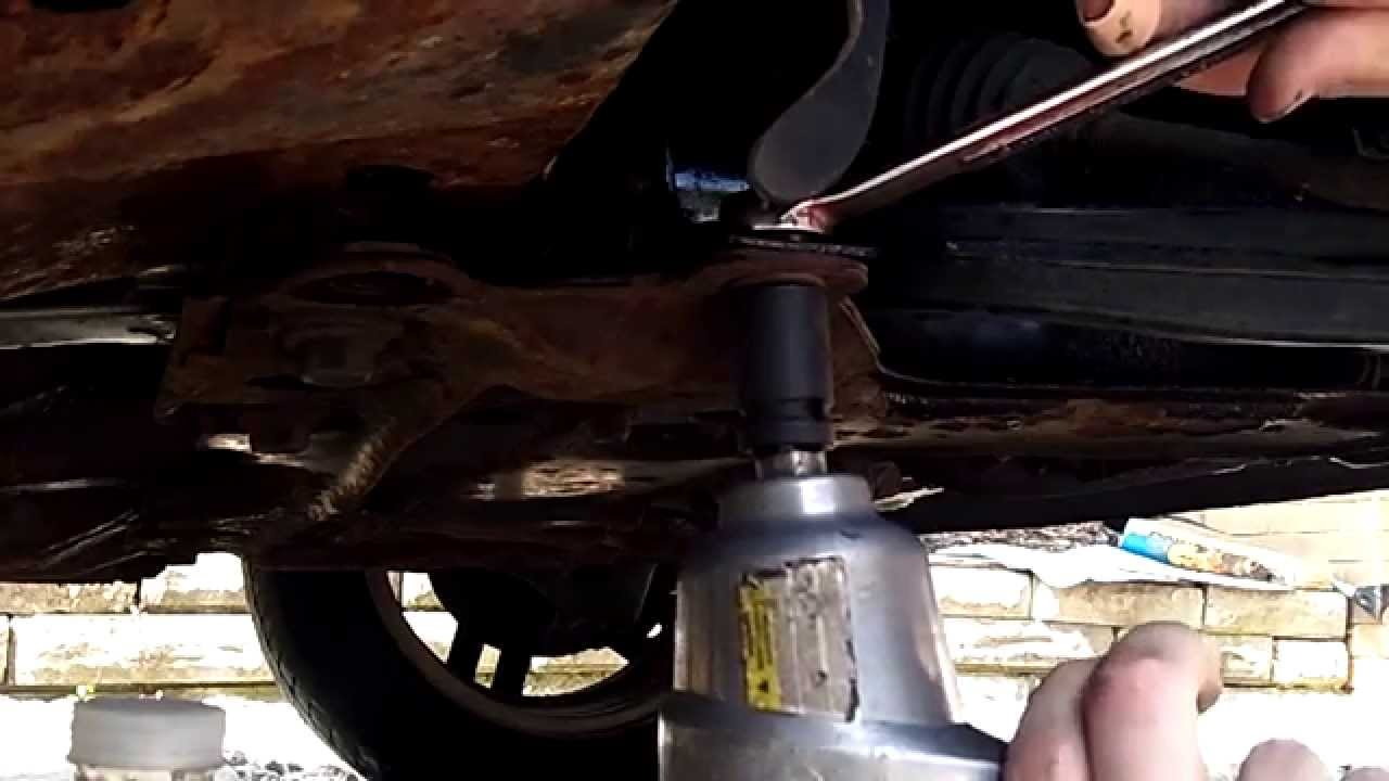 2003 Ford Focus Ball Joint Replacement Pt 1 Youtube