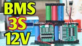 cara pasang bms 3S 12V-cara membuat charger baterai 18650