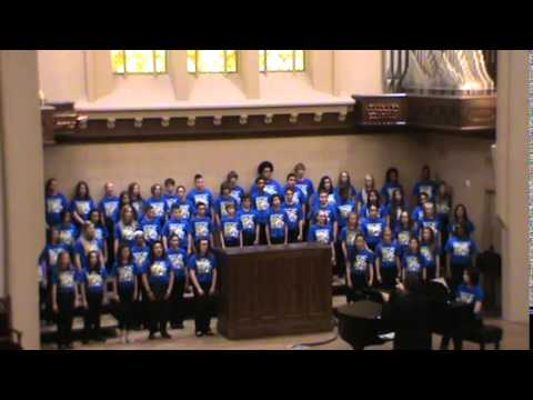 An American Folksong Spectacular:Allison Traditional Magnet Middle School Choir