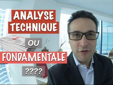 Pourquoi l'Analyse Technique est plus efficace que l'Analyse Fondamentale ?