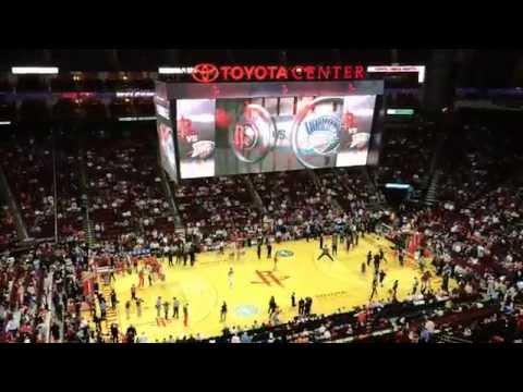 Oklahoma City Thunder @ Houston Rockets / April 4, 2014 / Toyota Center, Section 411