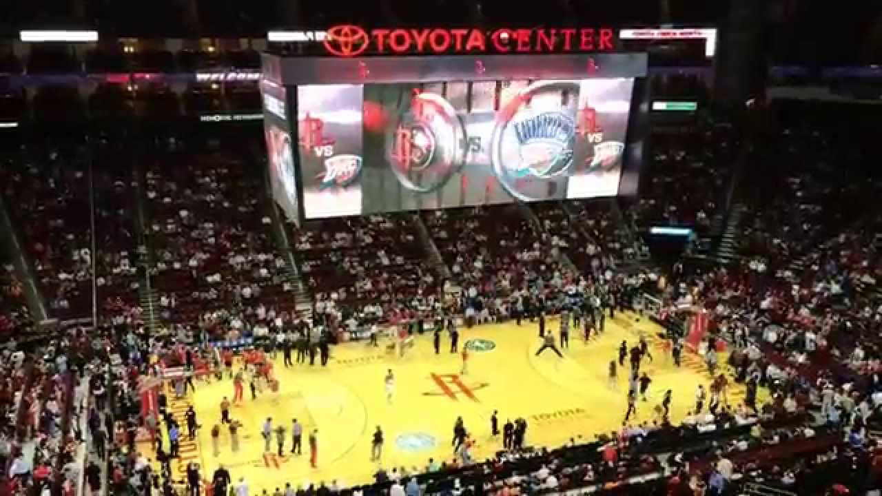 Oklahoma City Thunder Houston Rockets April 4 2014
