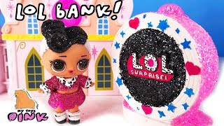БАНК КУКОЛ ЛОЛ! LOL Surprise DIY Поделки для Куклы ЛОЛ! Раскраски для Детей #Coloring for LOL Dolls