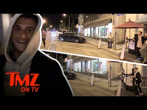 Johnny Manziel Plays Catch With TMZ! | TMZ TV