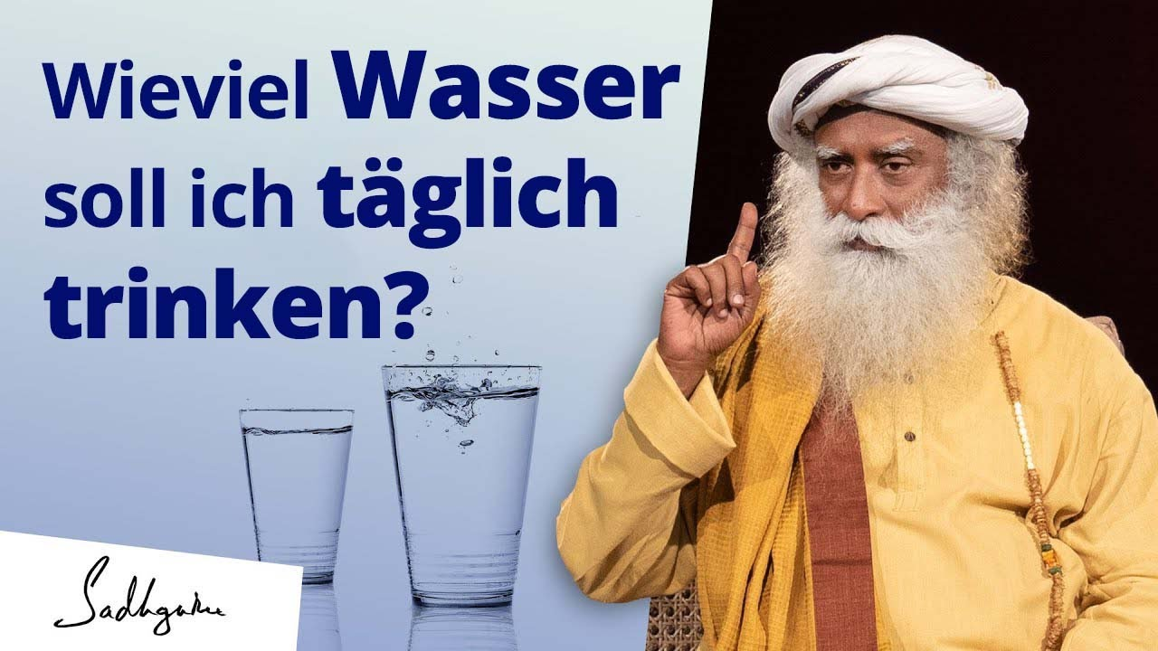 Wieviel Wasser soll ich täglich wirklich trinken?