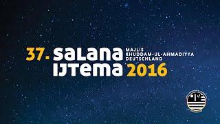 Botschaft Sadr Majlis Khuddam-ul-Ahmadiyya Deutschland zum Salana Ijtema 2016