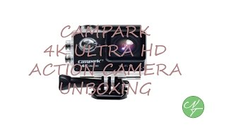 campark 4k wifi ultra hd waterproof sports action camera unboxing