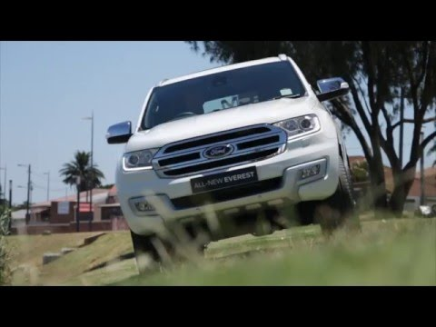 New Ford Everest 2016 review