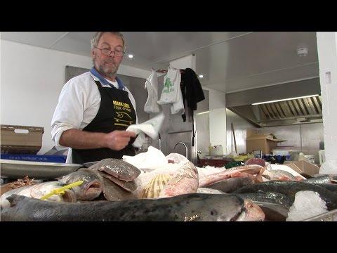 Mark Lobb Fishmonger Wild Food Dartmouth UK South Devon
