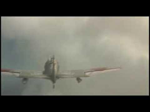 Kamikaze strike against US task force