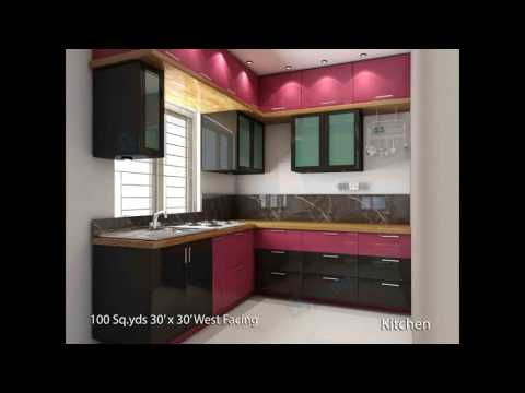 1 bhk kitchen design