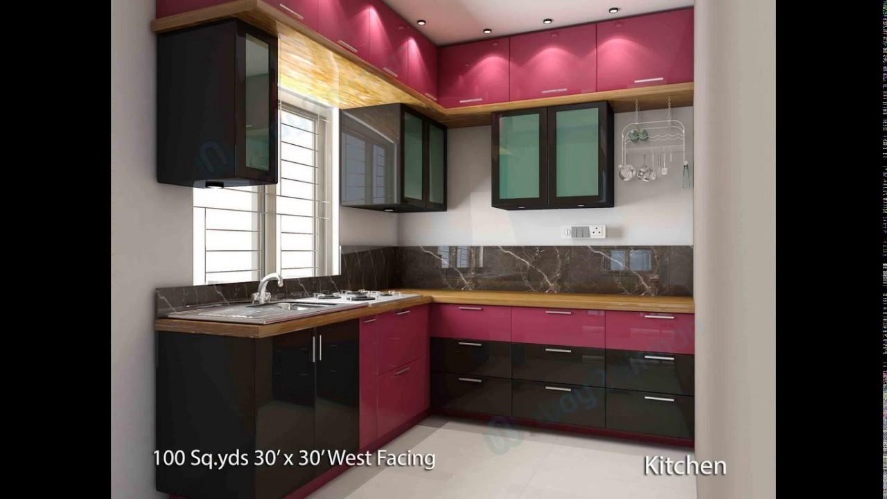 1 bhk kitchen design