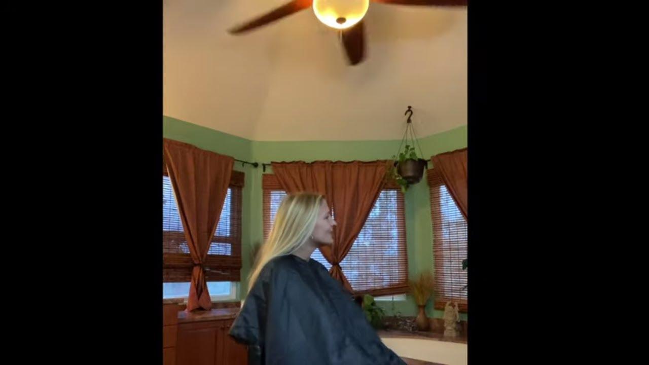 Megan P: Buzzes All Her Hair Off (YT Original)