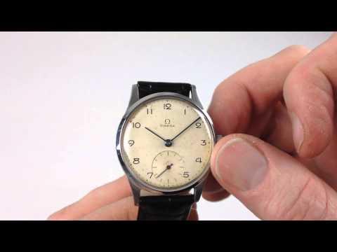 OMEGA vintage wristwatch, circa 1940