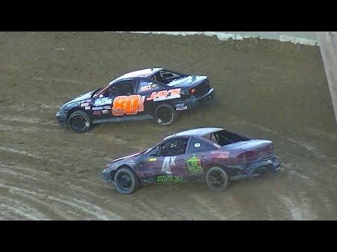 Mini Stock Heat Three | Old Bradford Speedway | 9-11-16