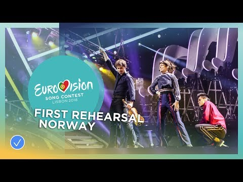 Alexander Rybak - That's How You Write A Song - First Rehearsal - Norway - Eurovision 2018