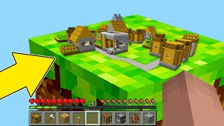 Download Minecraft NOOB vs PRO : NOOB FOUND THIS VILLAGE IN ONE BLOCK! Animation Mp3 and Videos