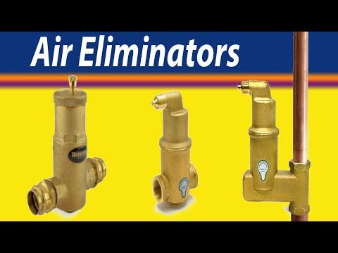 Air Eliminators in Radiant/Hydronic Heating Systems