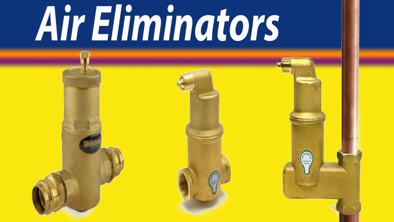 Air eliminators in radiant hydronic heating systems youtube